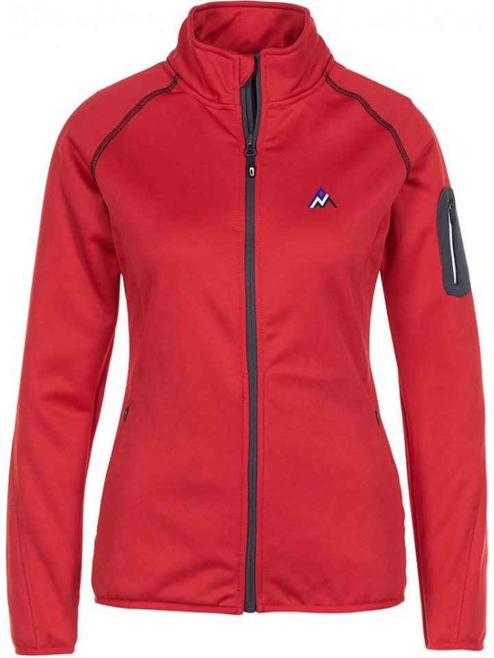 Peak Mountain Bluza polarowa w kolorze czerwonym