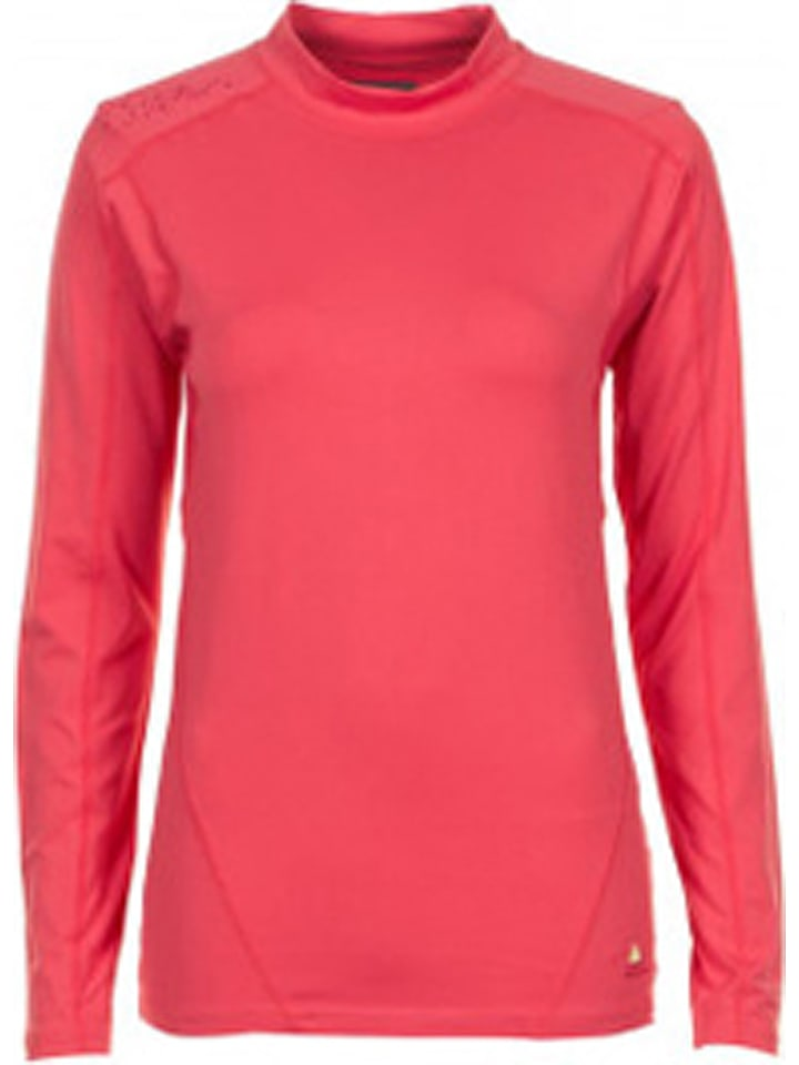 Peak Mountain T-shirt fonctionnel manches longues - corail