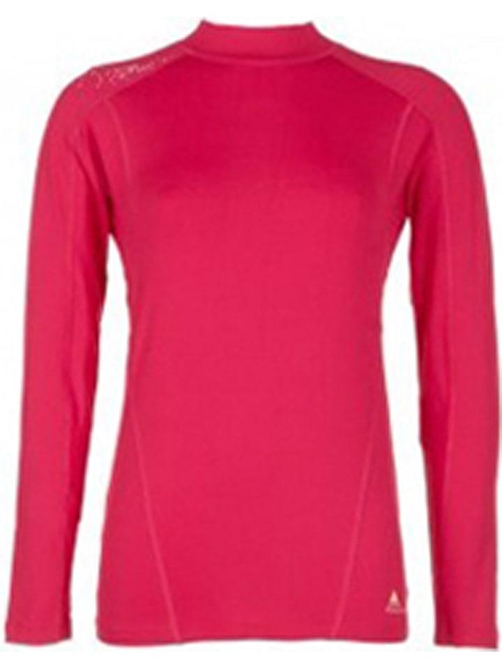 Peak Mountain T-shirt fonctionnel manches longues - rose vif