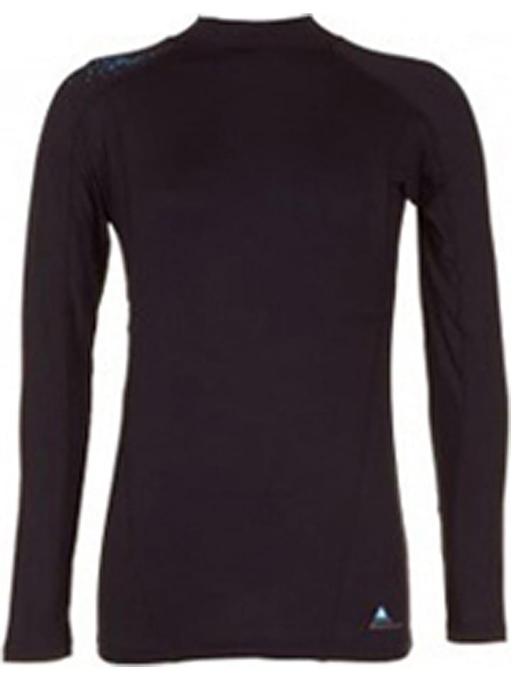 Peak Mountain T-shirt fonctionnel manches longues - noir