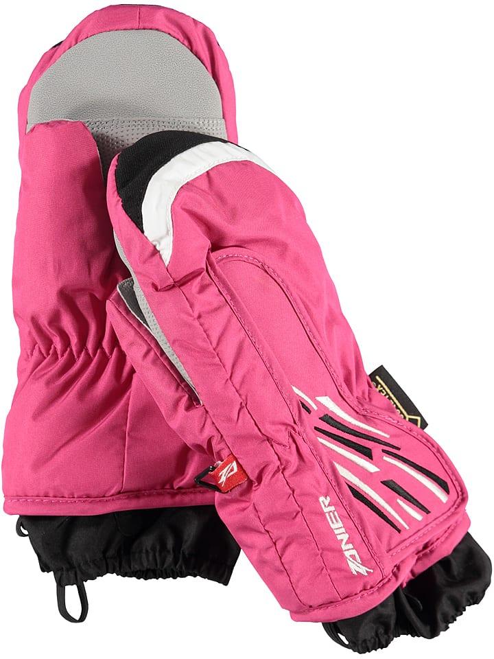 """Zanier Dziecięce rękawice narciarskie """"GTX"""" w kolorze różowym"""