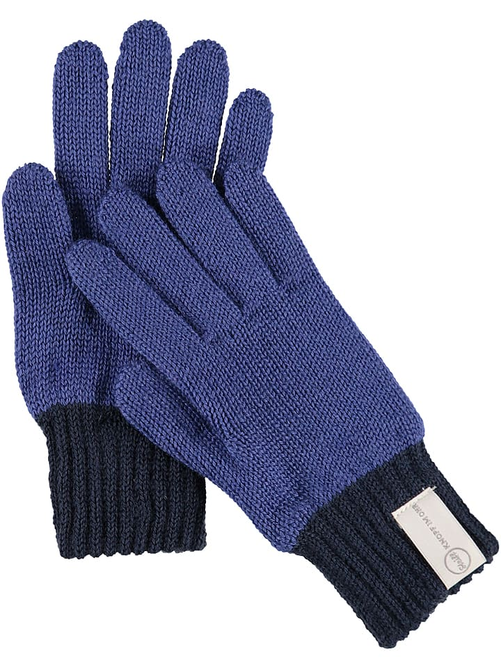 Steiff Rękawiczki w kolorze niebieskim