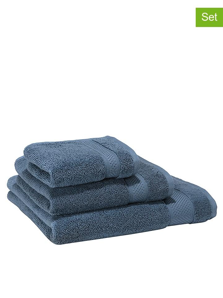 """Villeroy & Boch Ręczniki (2 szt.) """"Pure'' w kolorze niebieskim dla gości"""