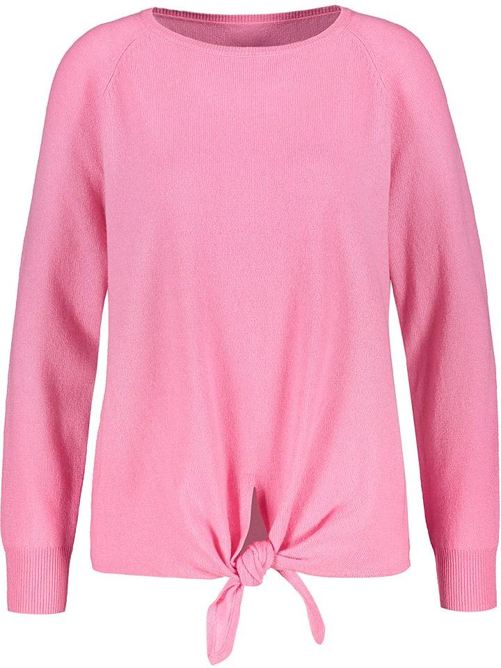 Talkabout Sweter w kolorze jasnoróżowym
