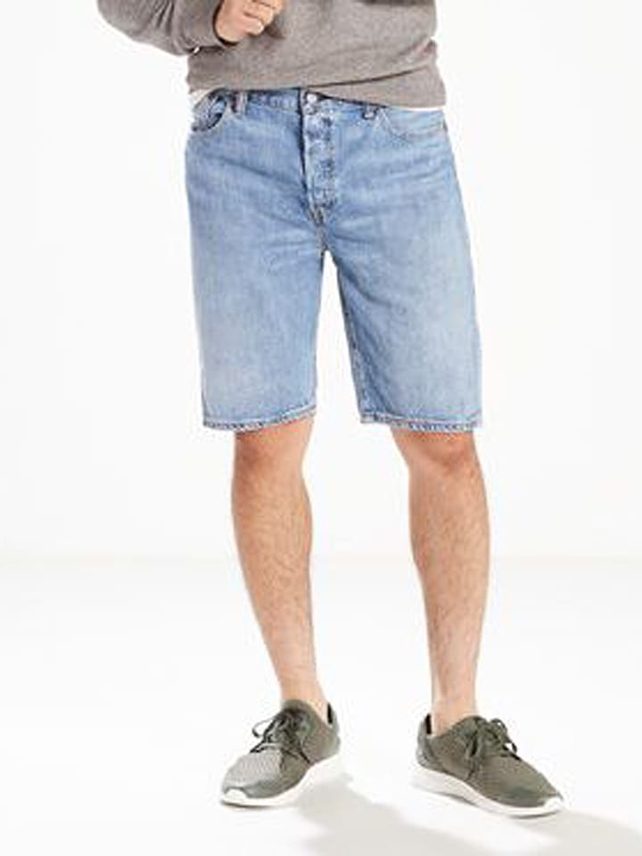 "Levi´s Short en jean ""501®"" - hemmed fit - bleu clair"