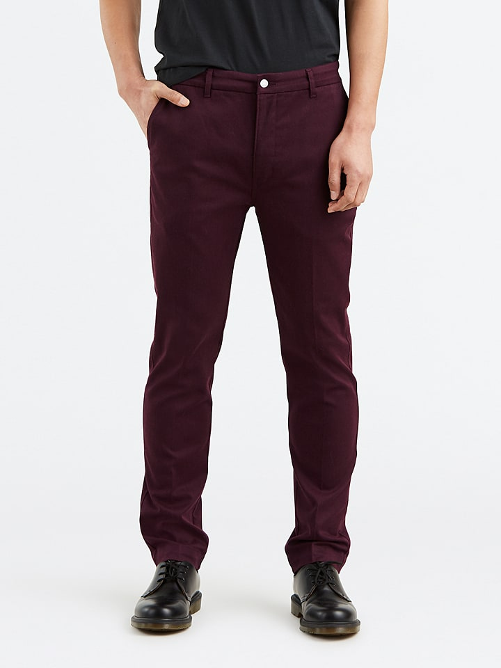 """Levi´s Chino """"502®"""" - regular fit - rouge"""