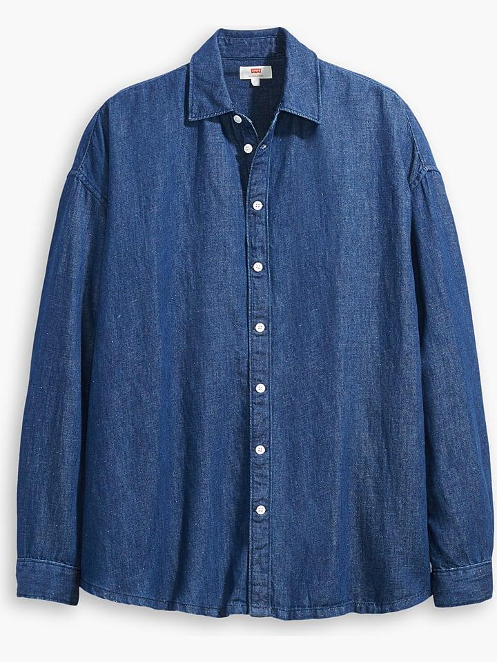 """Levi´s Dżinsowa bluzka """"Painter"""" w kolorze niebieskim"""