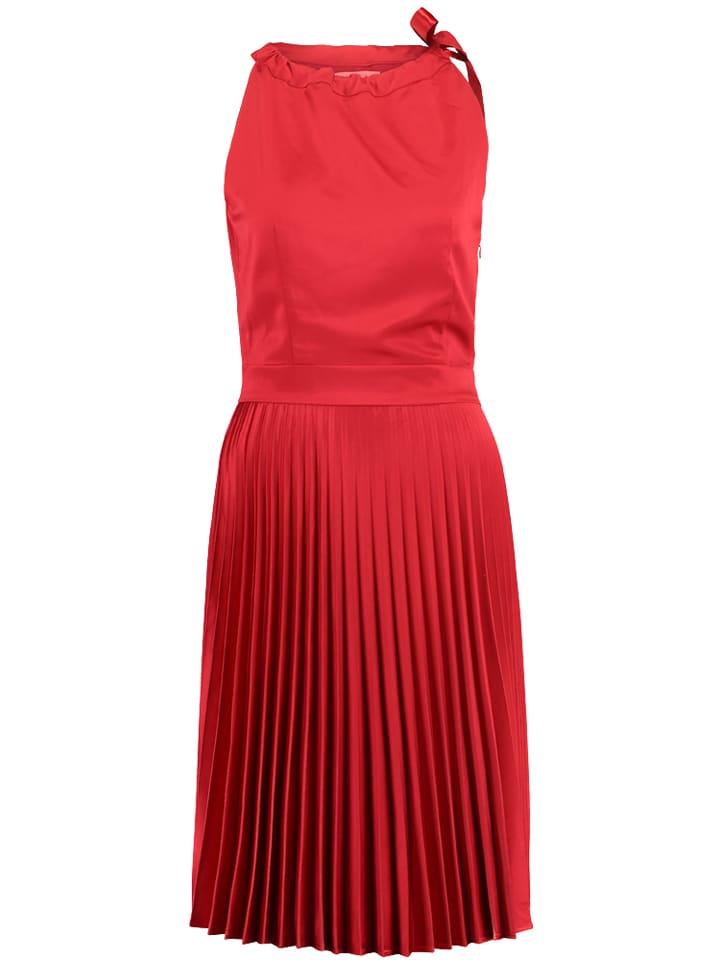 Mint & berry Sukienka w kolorze czerwonym