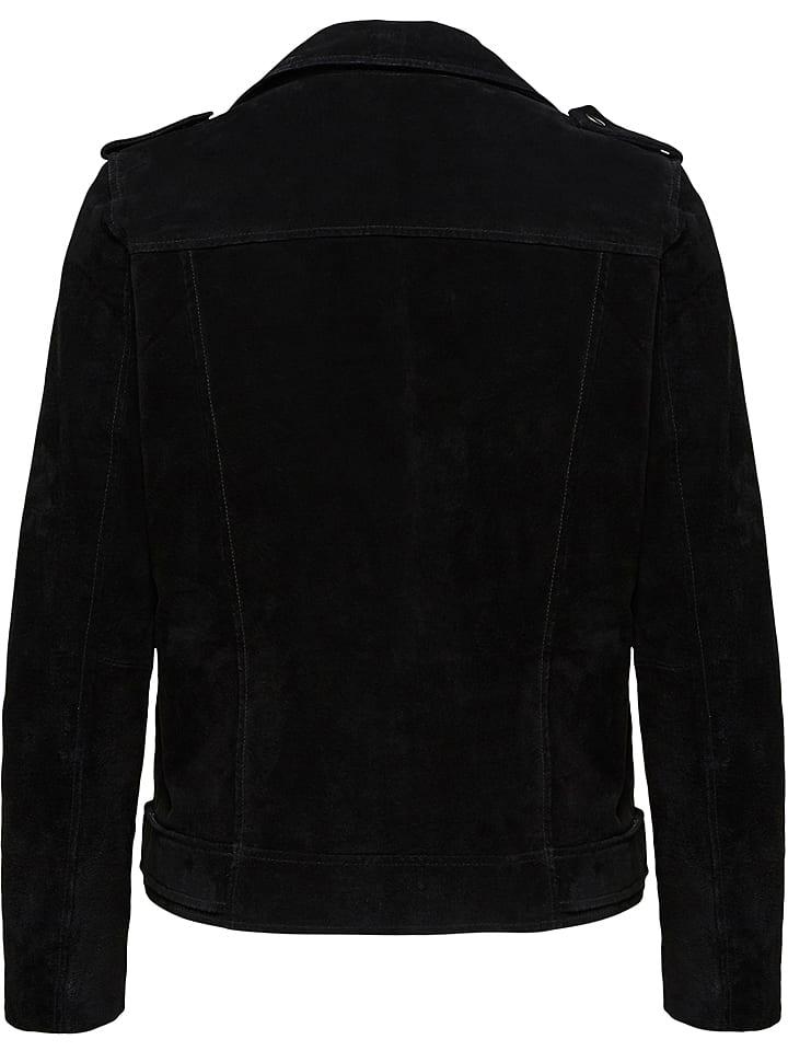 da05092e37ee5 SELECTED FEMME - Veste en cuir - noir   Outlet limango