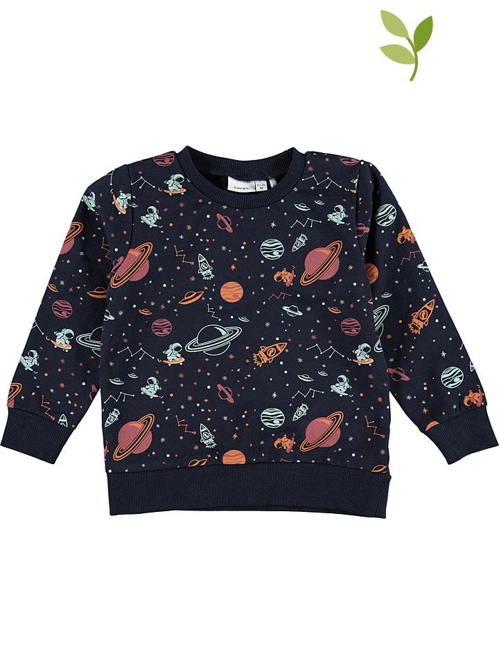 "Name it Sweatshirt ""Raspace"" in Dunkelblau"