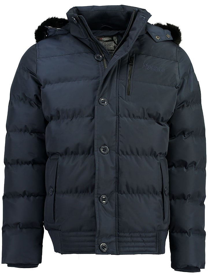 "Geographical Norway Winterjas ""Booba"" donkerblauw"