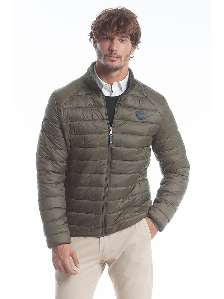 Polo Club Kurtka zimowa w kolorze khaki