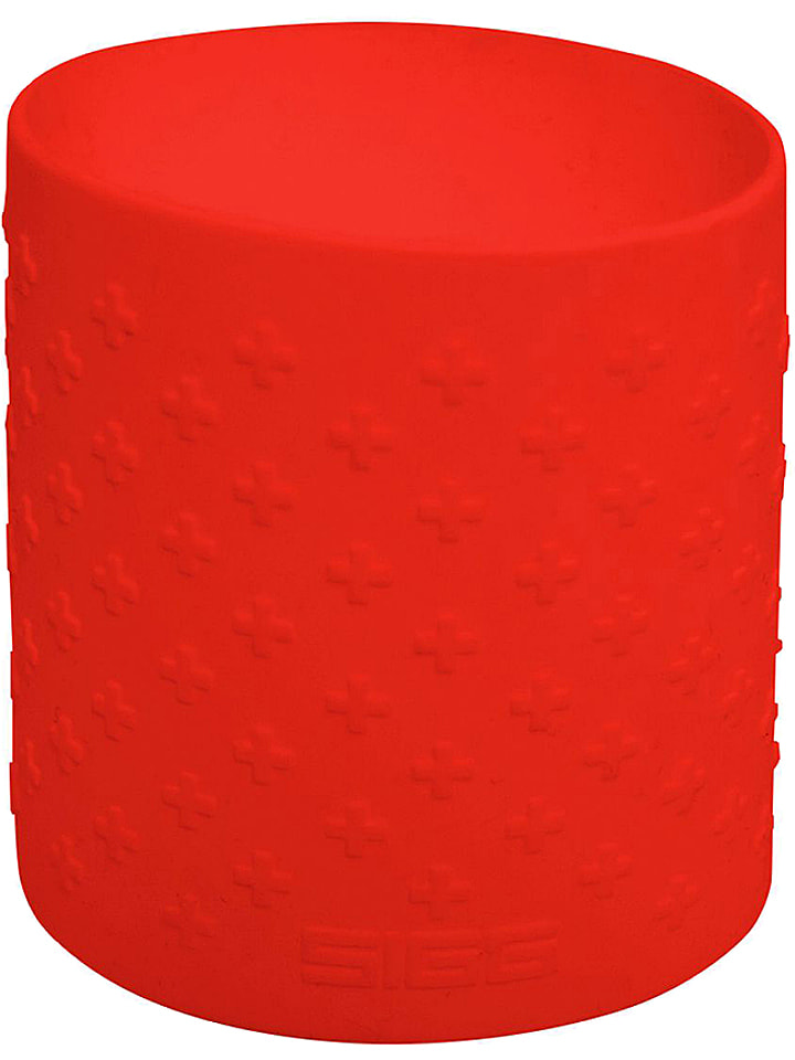 """SIGG Silicone band """"Grip"""" voor SIGG CYD flessen (1 l) rood"""