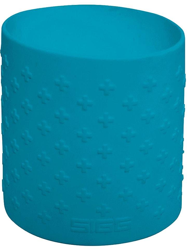 SIGG Silikonowy rękaw w kolorze niebieskim do butelek