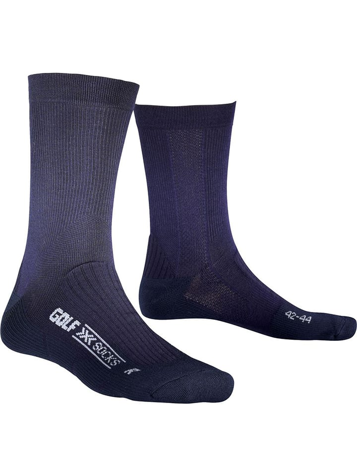 "X-Socks Golfstrümpfe ""Golf Man Midcalf"" in Dunkelblau"