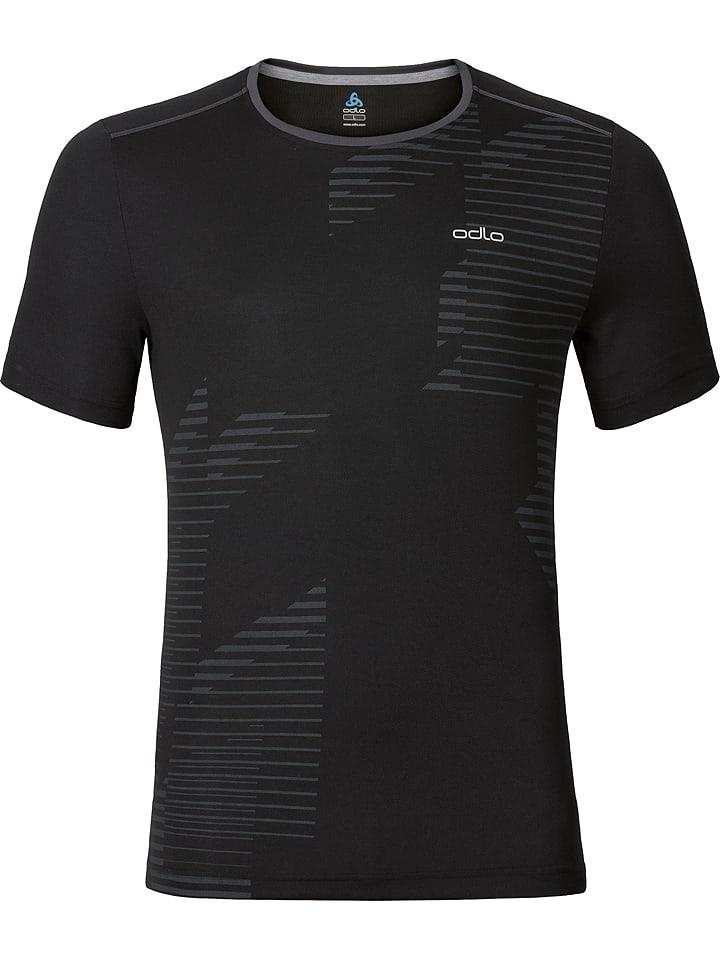 """Odlo Koszulka funkcyjna """"George"""" w kolorze czarnym"""