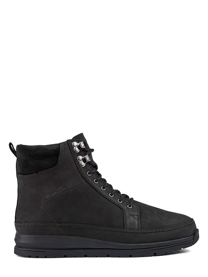"Boxfresh Leder-Sneakers ""Loadha"" in Schwarz"