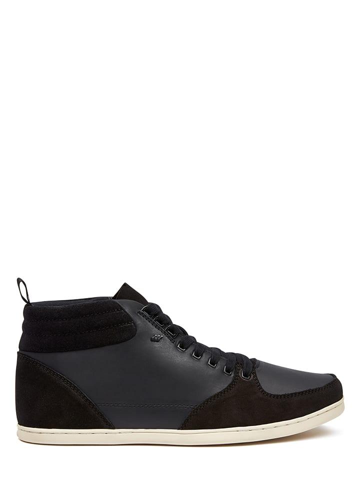 """Boxfresh Skórzane sneakersy """"Eplett"""" w kolorze czarnym"""