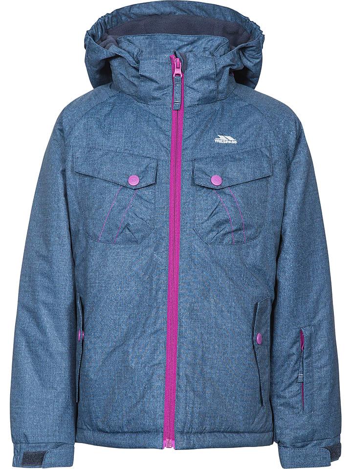 "Trespass Ski-/snowboardjas ""Backspin"" blauw"