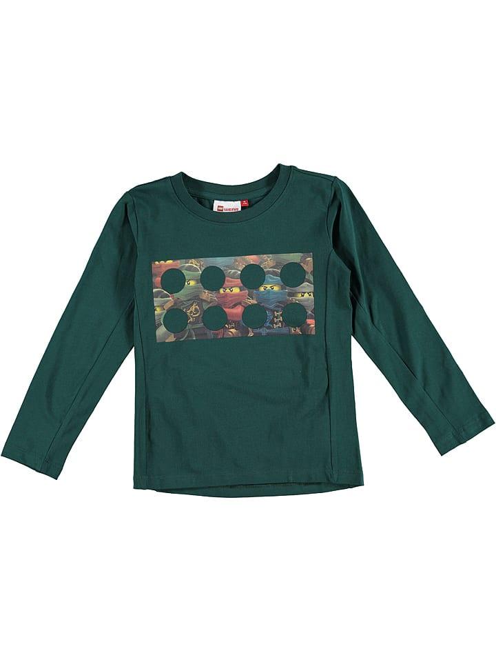 """Legowear Koszulka """"Thomas 717"""" w kolorze ciemnozielonym"""