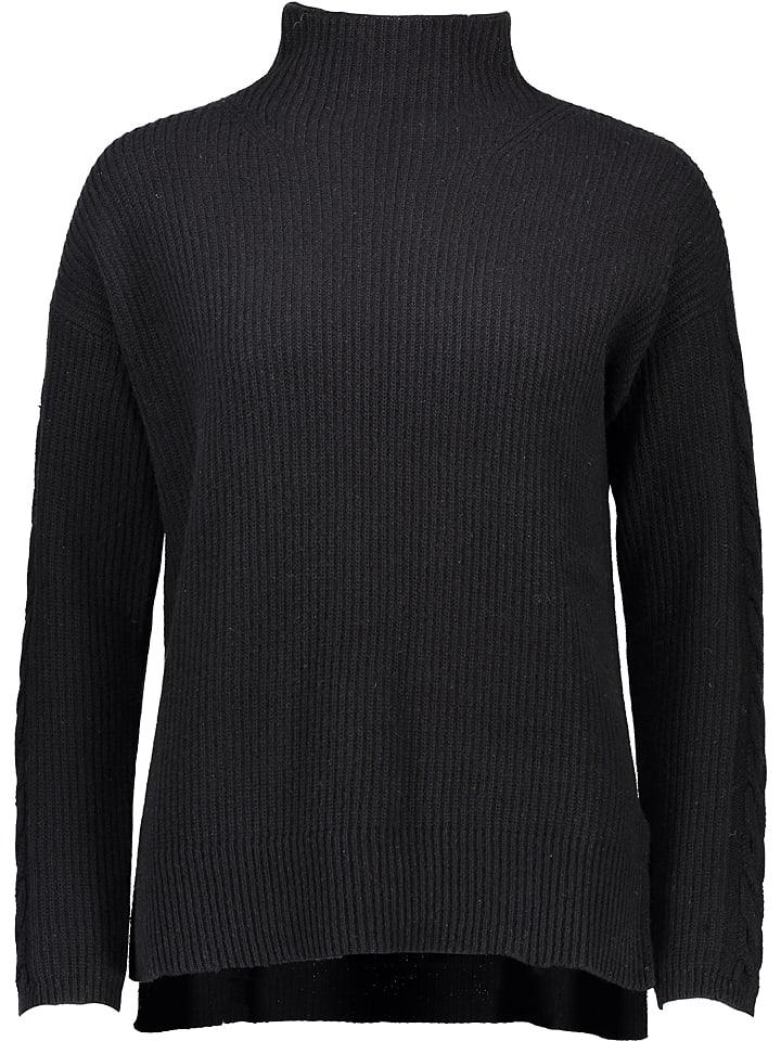 Gottardi Sweter w kolorze czarnym