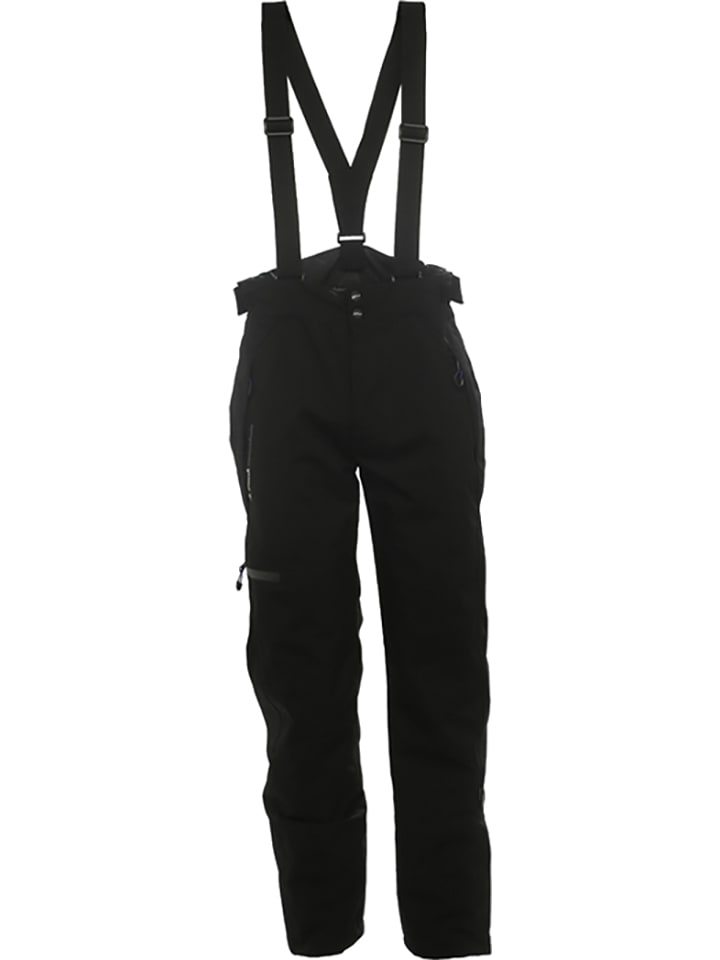 Peak Mountain Pantalon softshell de ski/snowboard - noir