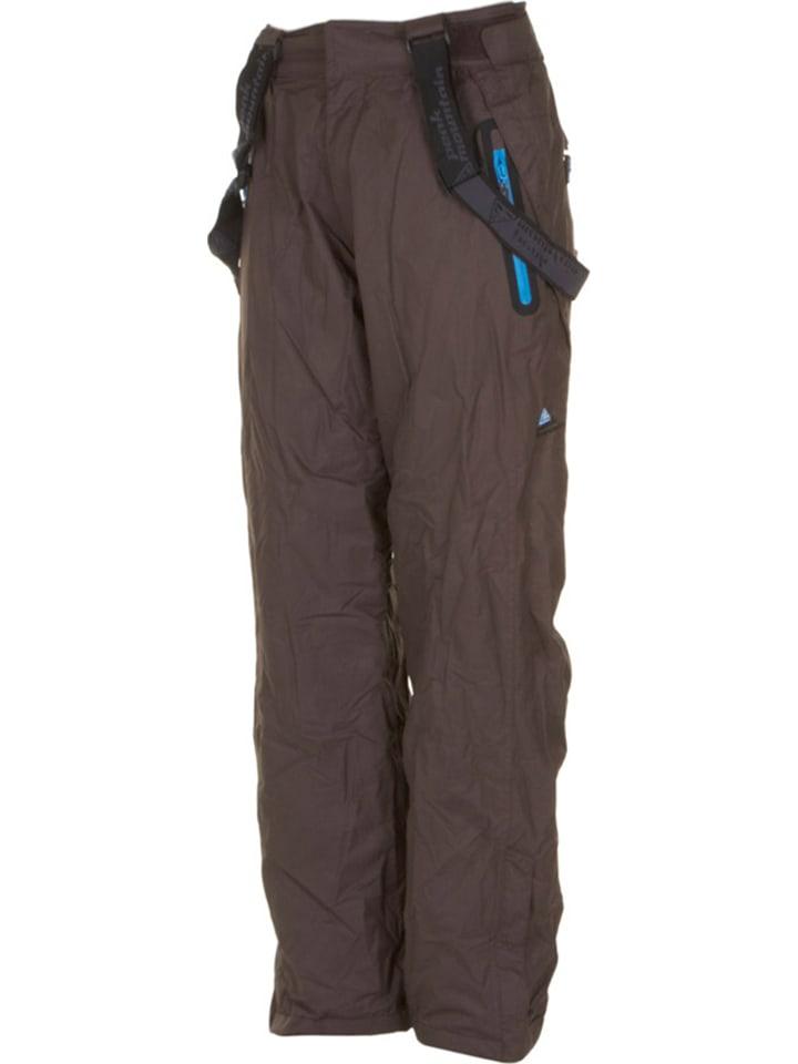 Peak Mountain Pantalon de ski/snowboard - marron