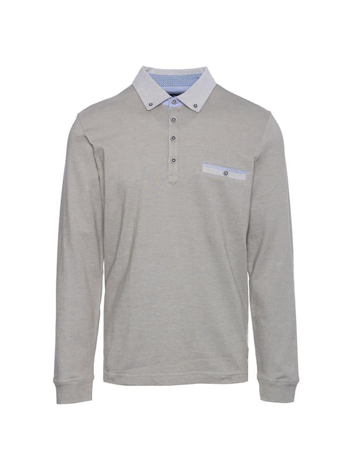 Pierre Cardin Koszulka polo w kolorze jasnoszarym