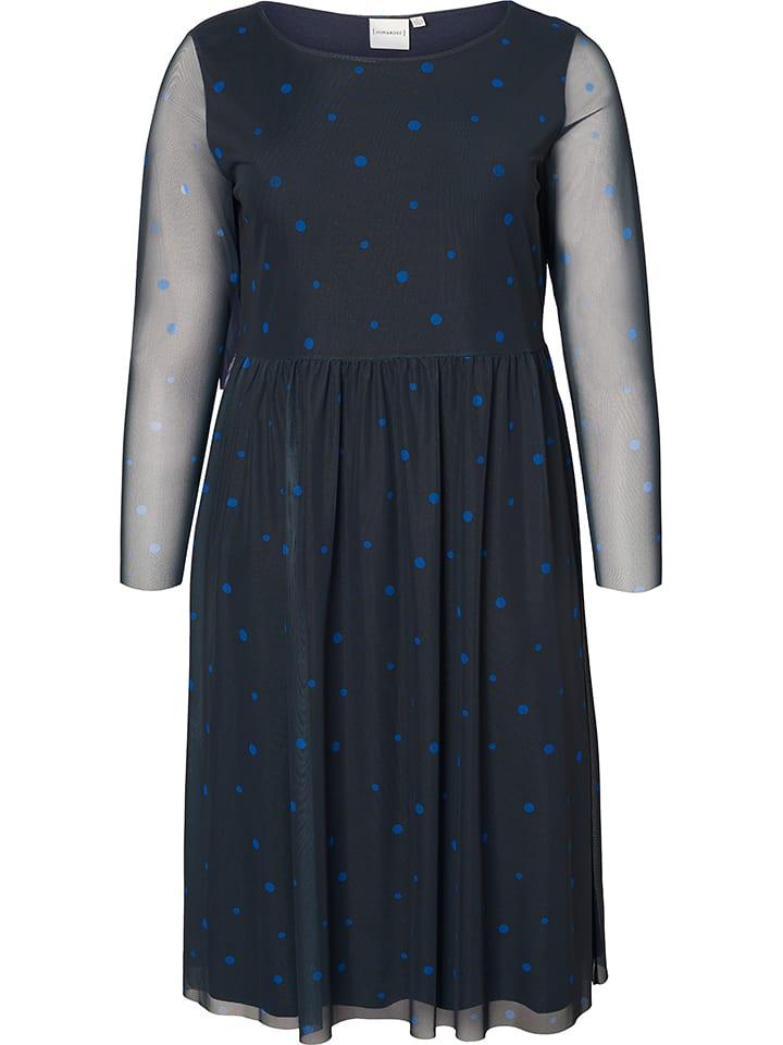 JUNAROSE Sukienka w kolorze granatowym