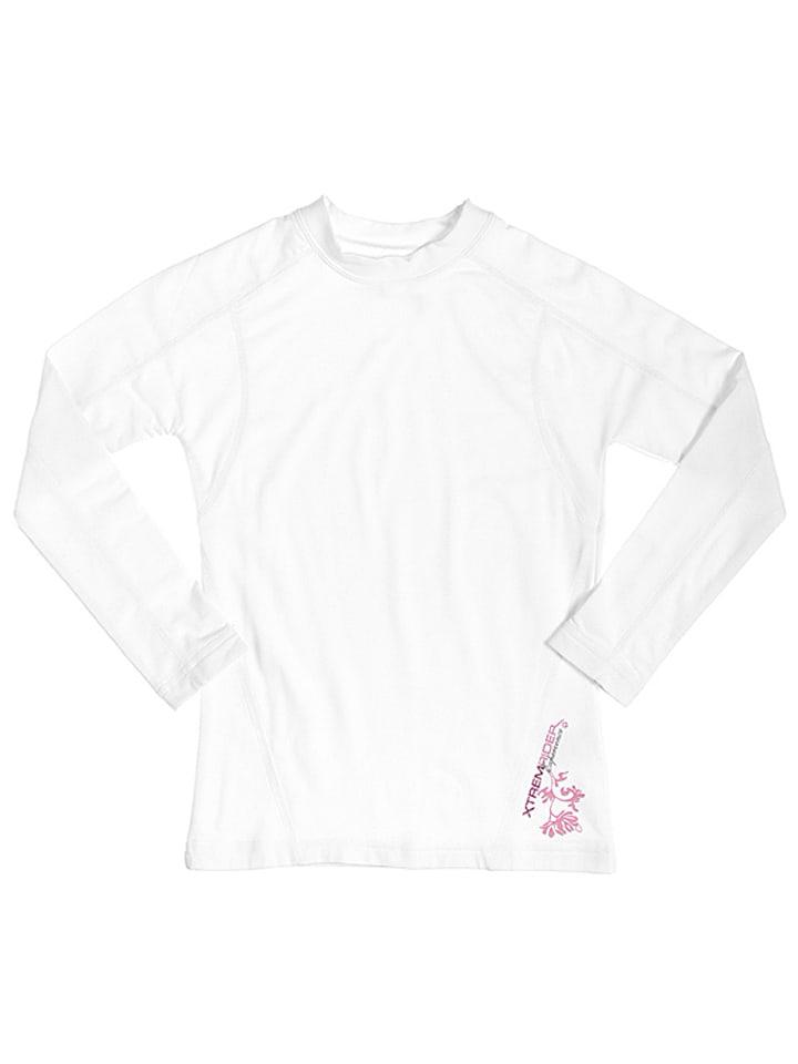 Peak Mountain T-shirt fonctionnel manches longues - blanc