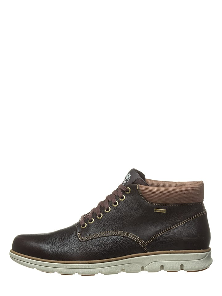 """Timberland Boots en cuir """"Bradstreet"""" - marron"""