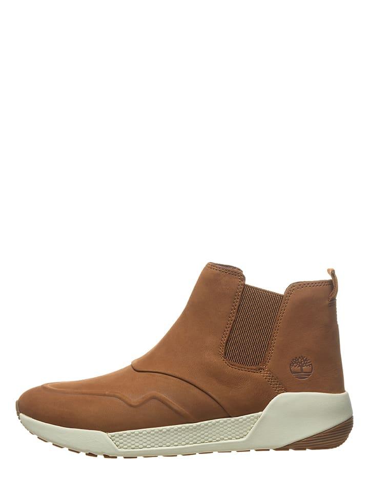 1f665caf9ba Timberland - Boots chelsea en cuir