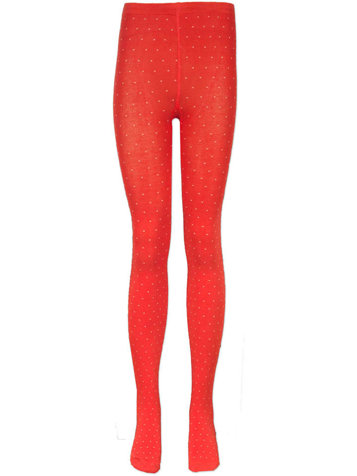 "4funkyflavours Strumpfhose ""Get A Leg Up"" in Orange"
