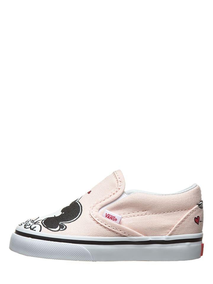 """Vans Slippersy """"Classic"""" w kolorze jasnoróżowym"""