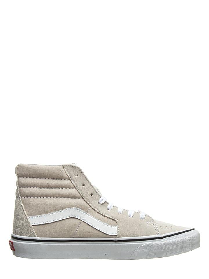 4d0d173627aa2 Skórzane sneakersy w kolorze beżowym - Vans - Wyprzedaż w Outlet Limango