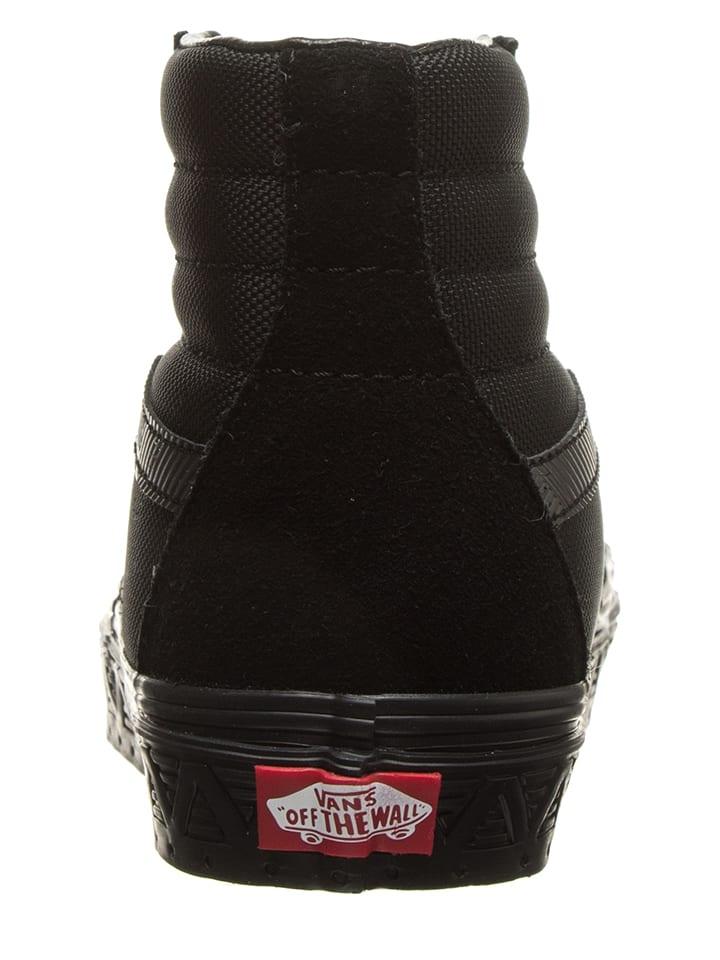 7126b720bcc6b Skórzane sneakersy w kolorze czarnym - Vans - Wyprzedaż w Outlet Limango
