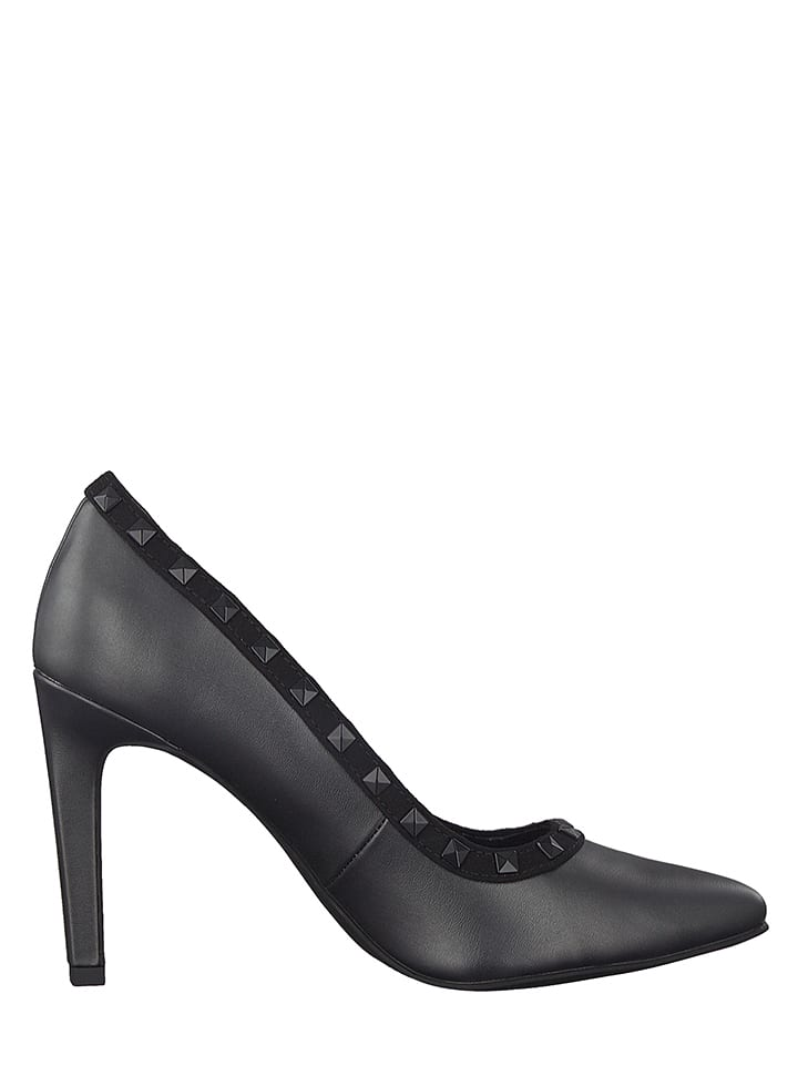Marco Tozzi Pumps in Dunkelgrau