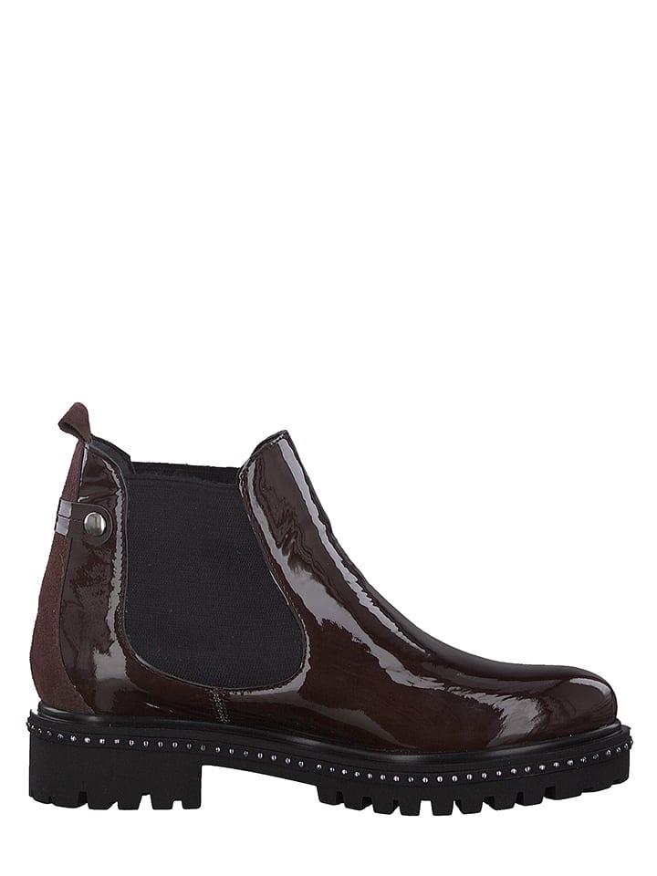 premium selection 826ec 009a6 Marco Tozzi - Leder-Chelsea-Boots in Bordeaux   limango Outlet