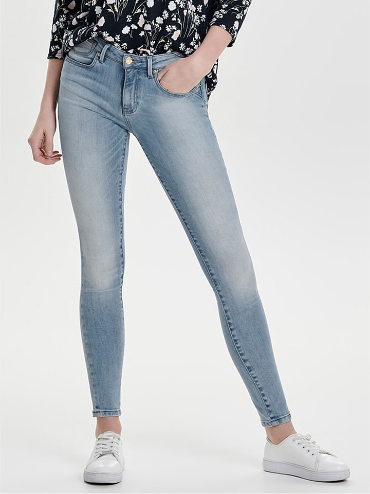 ONLY Jeans - Skinny Fit - in Blau