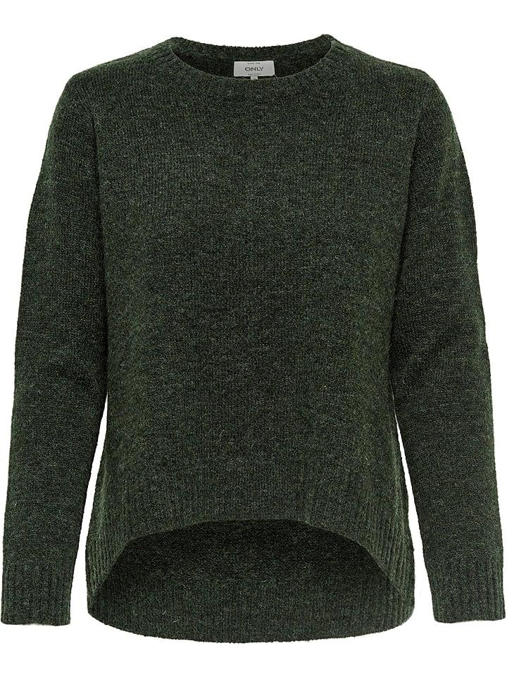ONLY Pullover  in Dunkelgrün