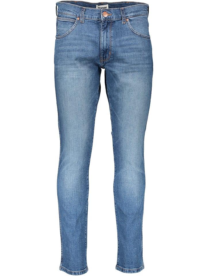 Wrangler Dżinsy - Slim Tapered fit - w kolorze niebieskim