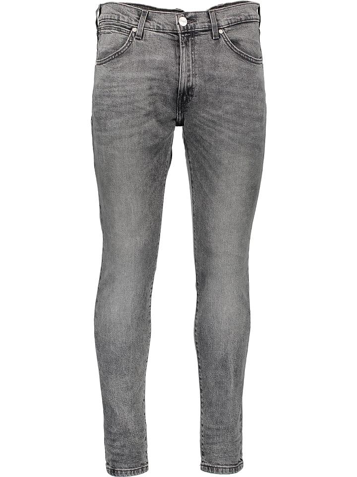 Wrangler Dżinsy - Skinny fit - w kolorze szarym
