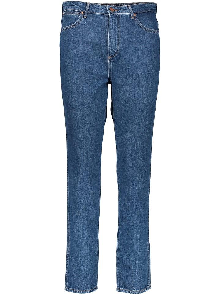 Wrangler Dżinsy - Slim fit - w kolorze niebieskim