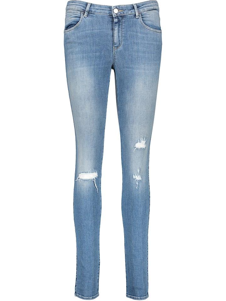 Wrangler Dżinsy - Skinny fit - w kolorze niebieskim