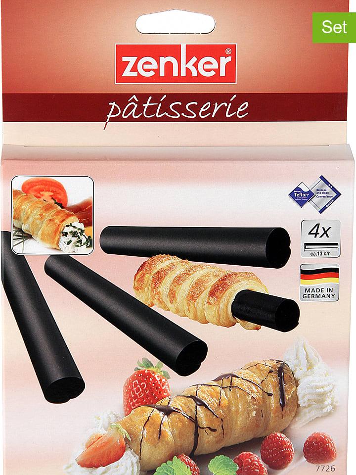 Zenker Rolki (4 szt.) w kolorze czarnym - dł. 13 x Ø 2 cm