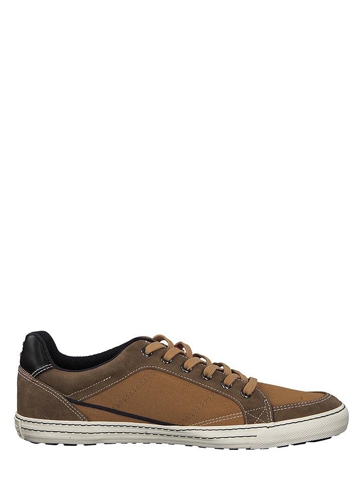 S. Oliver Sneakersy w kolorze jasnobrązowym