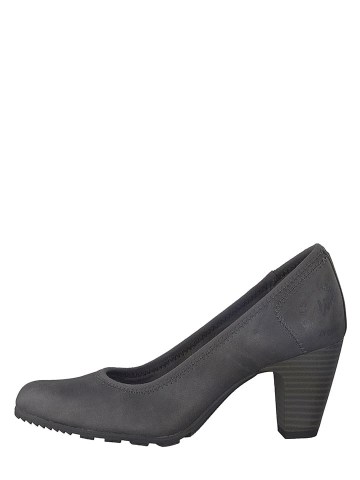 S. Oliver Pumps in Grau