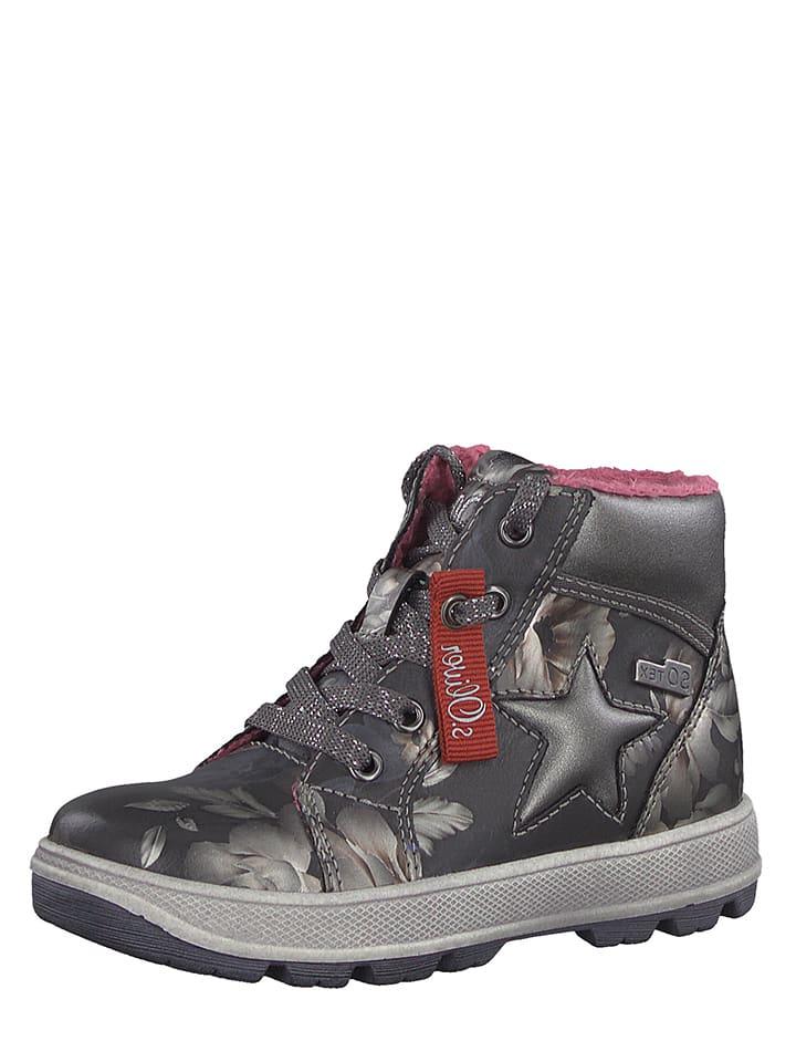 S. Oliver Sneakersy w kolorze szarym