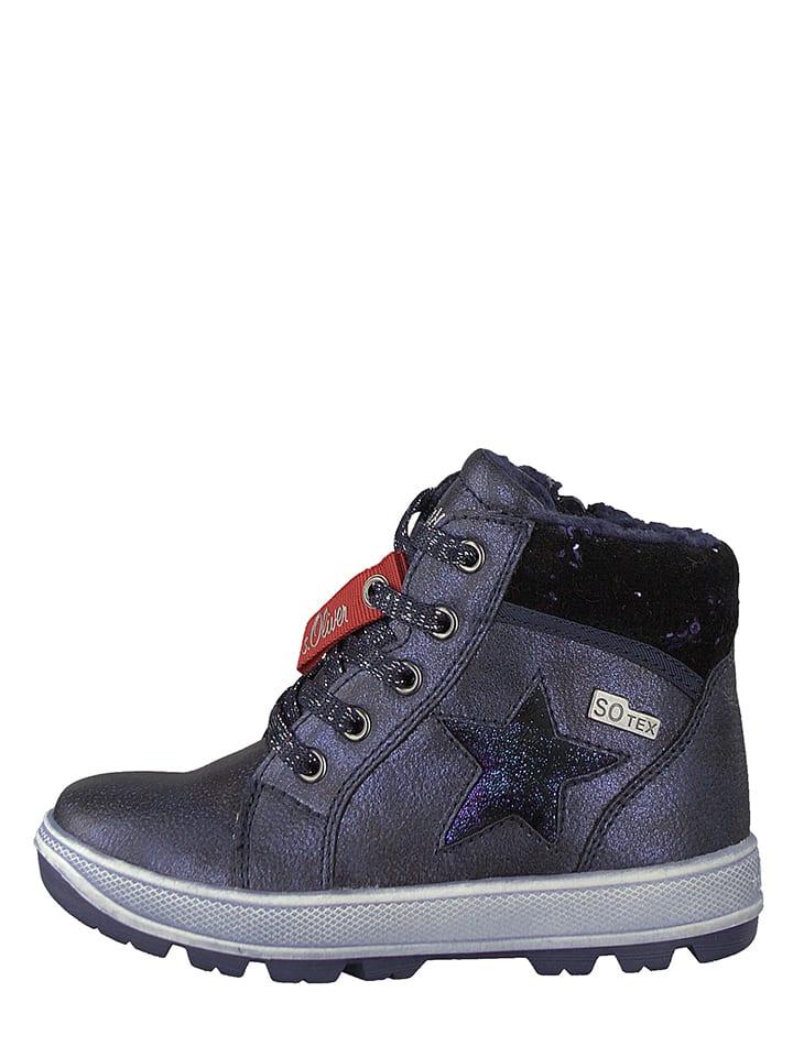S. Oliver Sneakersy w kolorze granatowym