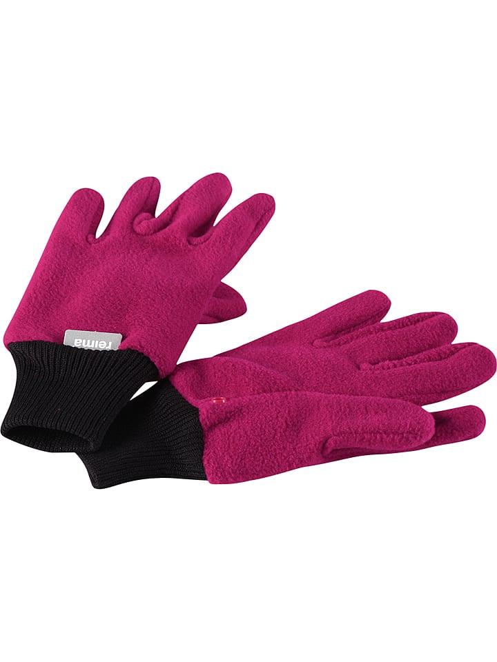 """Reima Rękawiczki """"Osk"""" w kolorze różowym"""